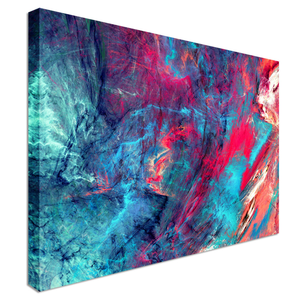 Modern Abstract Melody Canvas Wall Art Picture Print