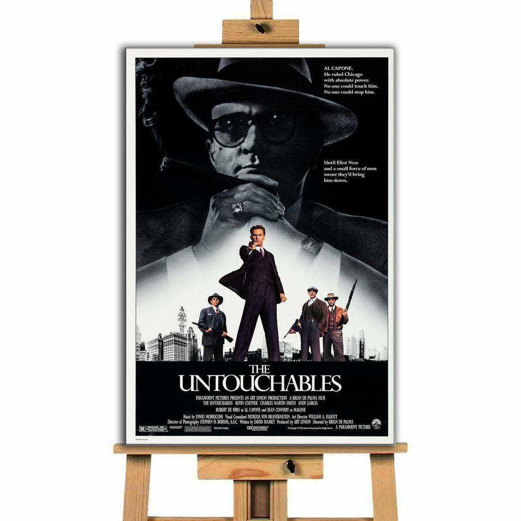 The Untouchables Movie Canvas Print Wall Art