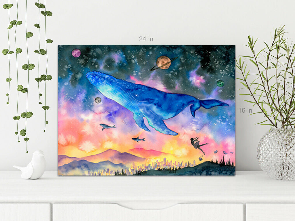 Kids Sea life Canvas Wall Art Picture Print