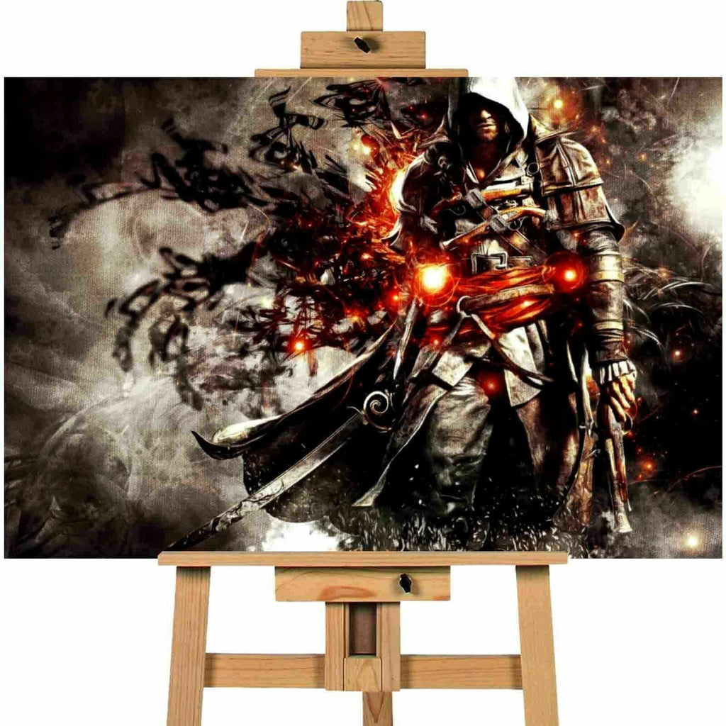 Assassins Creed 4 Black Flag Canvas Print Wall Art