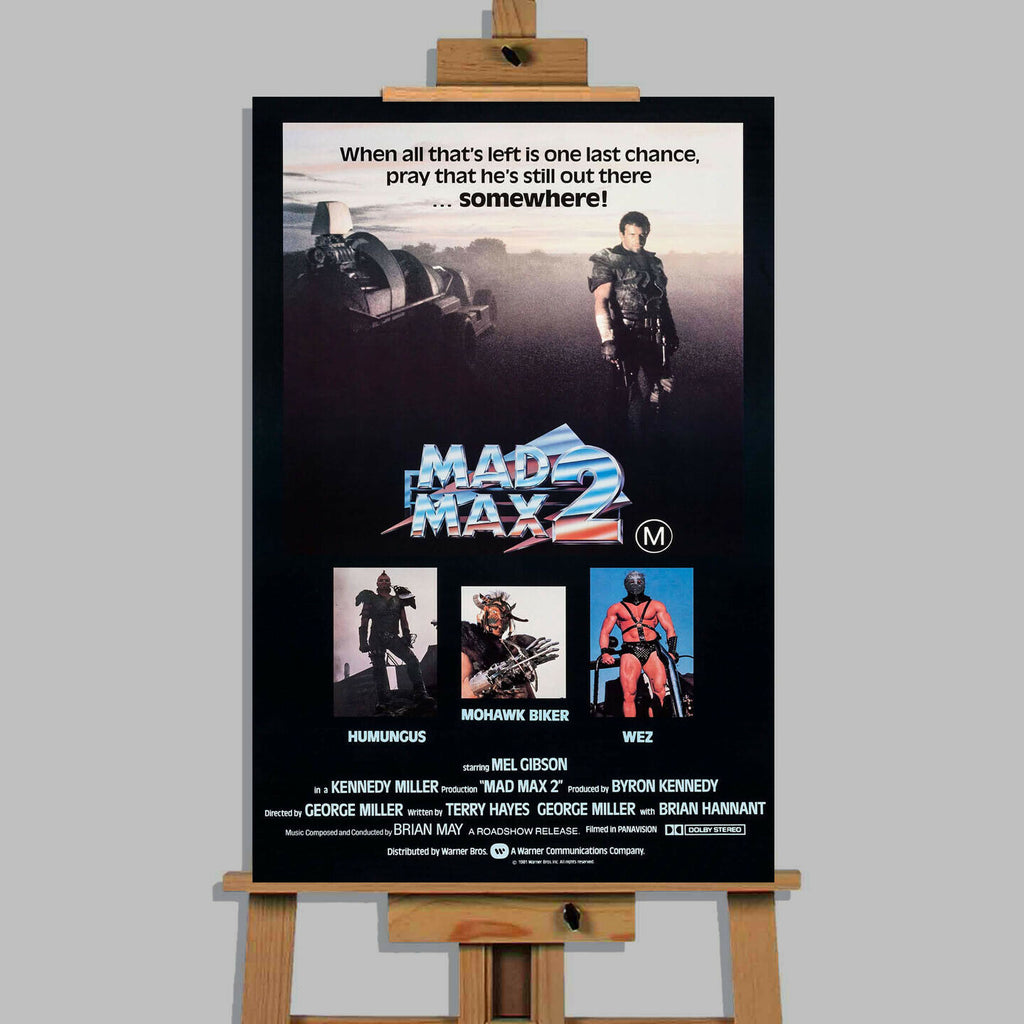 Madmax 2 Movie Stretched Canvas Wall Art Picture Print