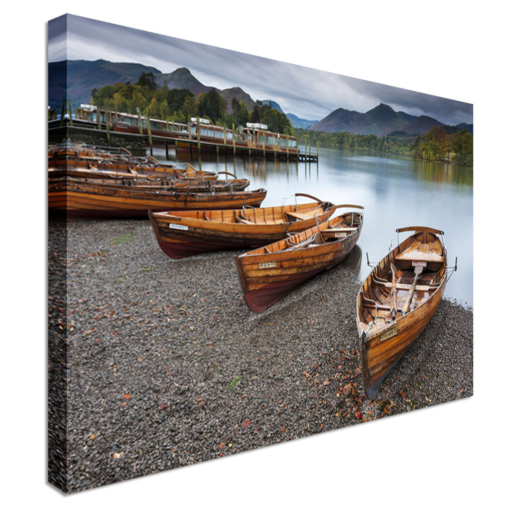 Keswick, English Lake District Canvas Wall Art Picture Print