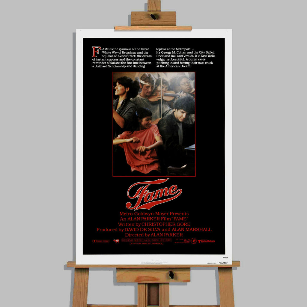 Fame Movie Canvas Wall Art Picture Print