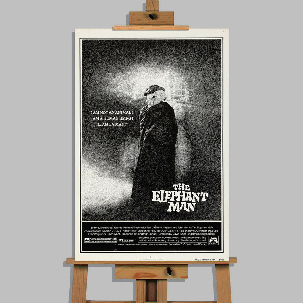 The Elephant Man Movie Canvas Wall Art Picture Print