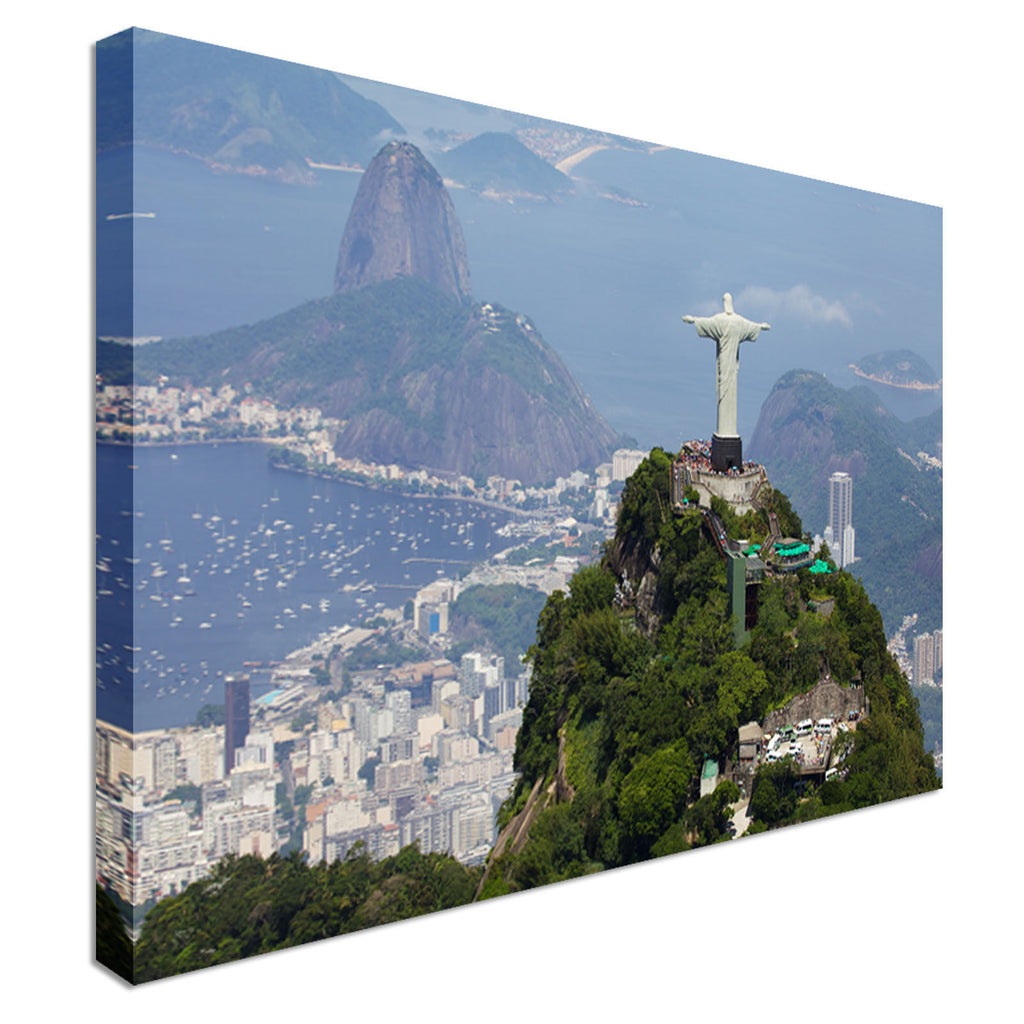 Christ Redeemer Canvas Wall Art Picture Print