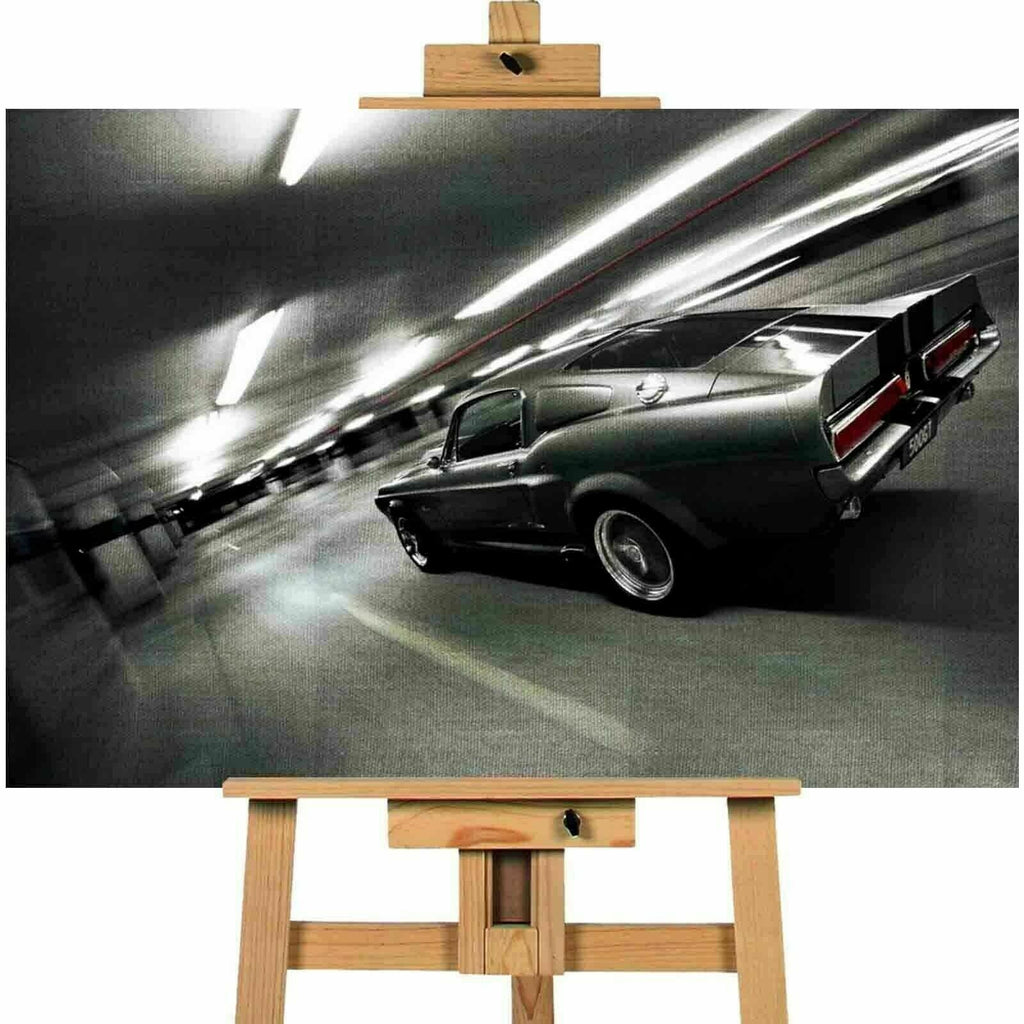Ford Mustang Shelby Gt500 Eleanor Canvas Wall Art CVTOCT0126