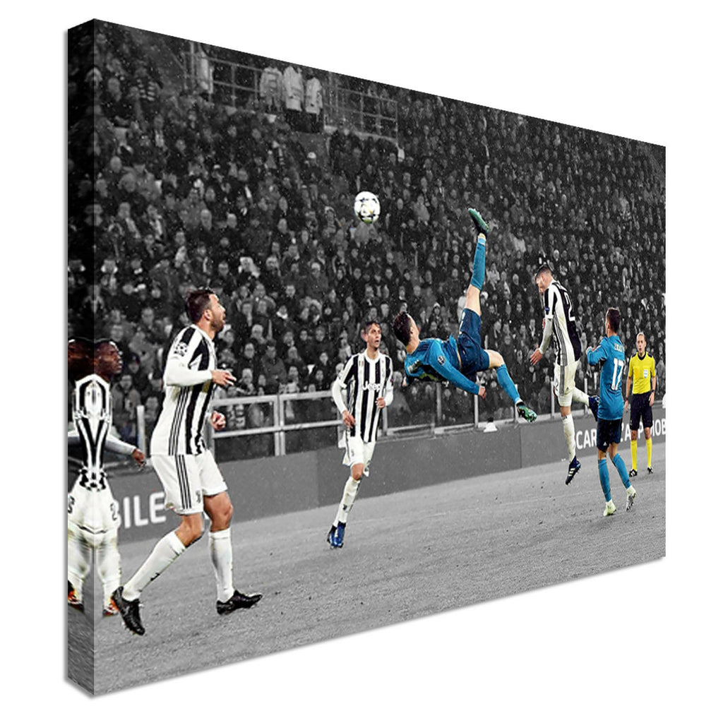 Ronaldo Goal Amazing Canvas Wall Art Picture Print