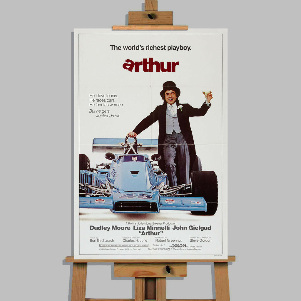 Arthur Dudley Moore Movie Canvas Wall Art Picture Print