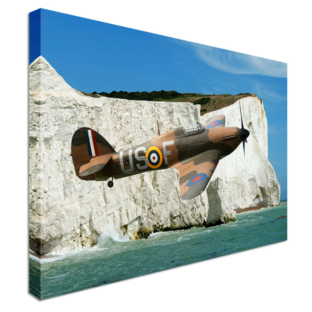 Hawker Hurricane Dover Canvas Wall Art Picture Print