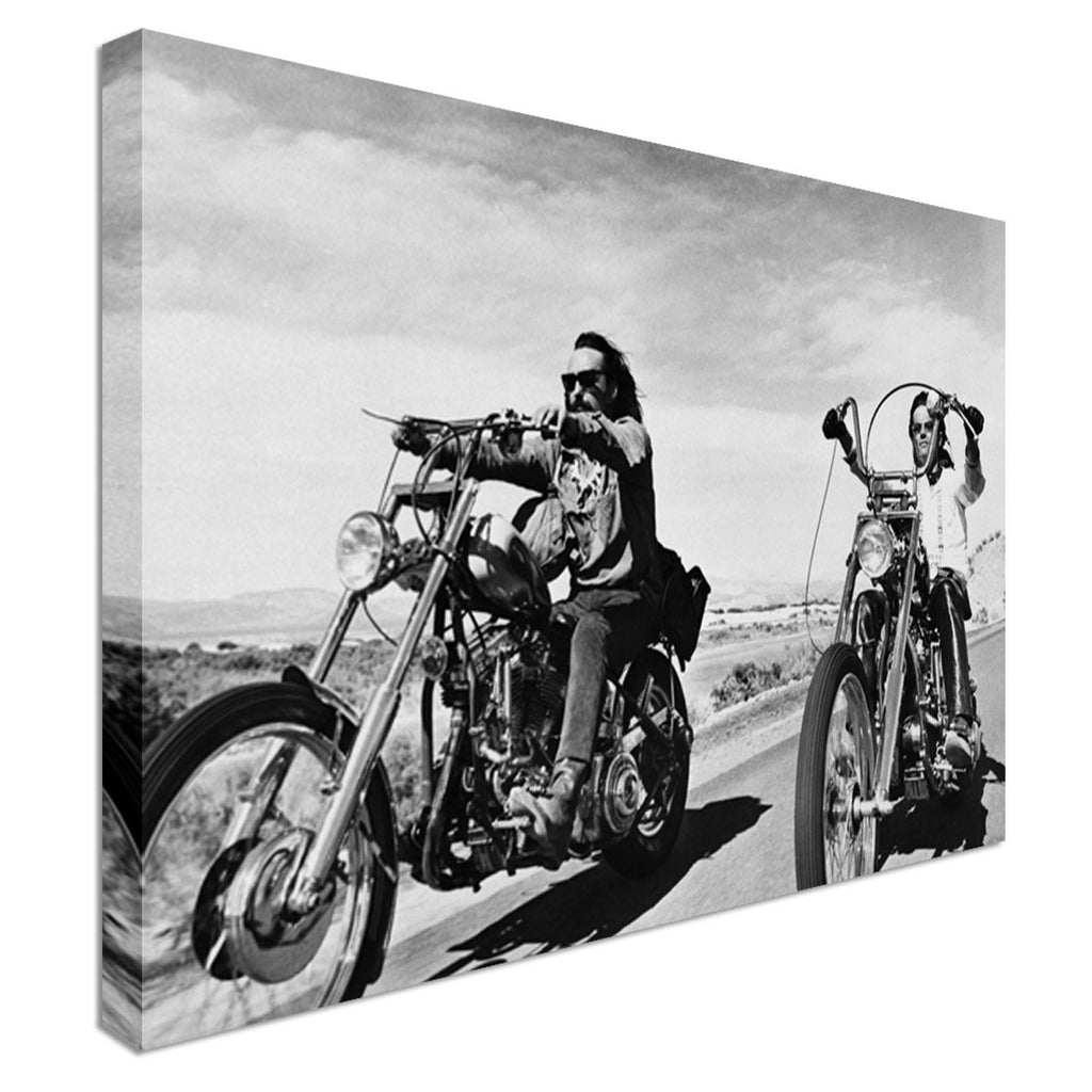 Easy rider iconic movie Canvas Wall Art Picture Print
