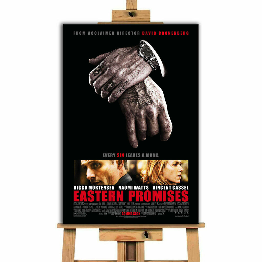 Eastern Promises Movie Canvas Print Wall Art