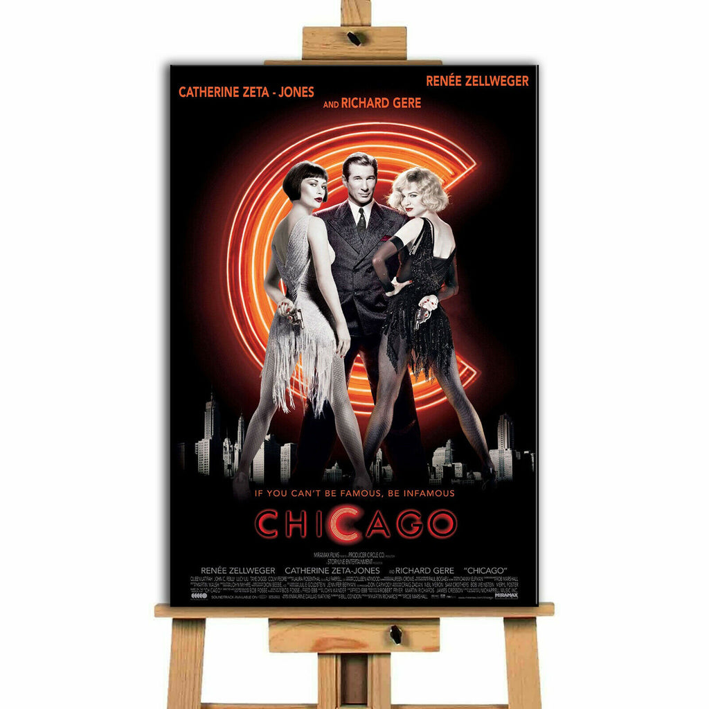 Chicago Movie  Canvas Print Wall Art