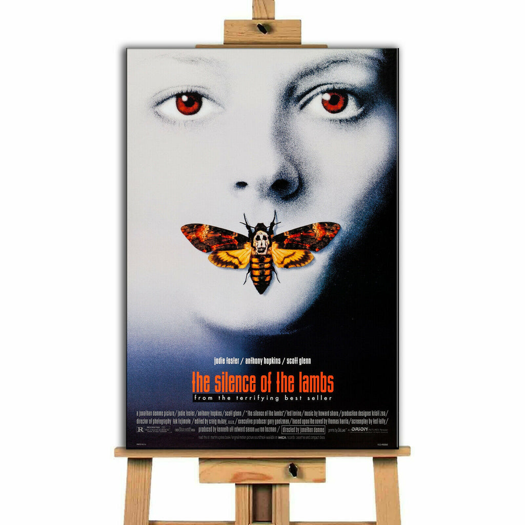 Silence of the Lambs Movie Canvas Print Wall Art