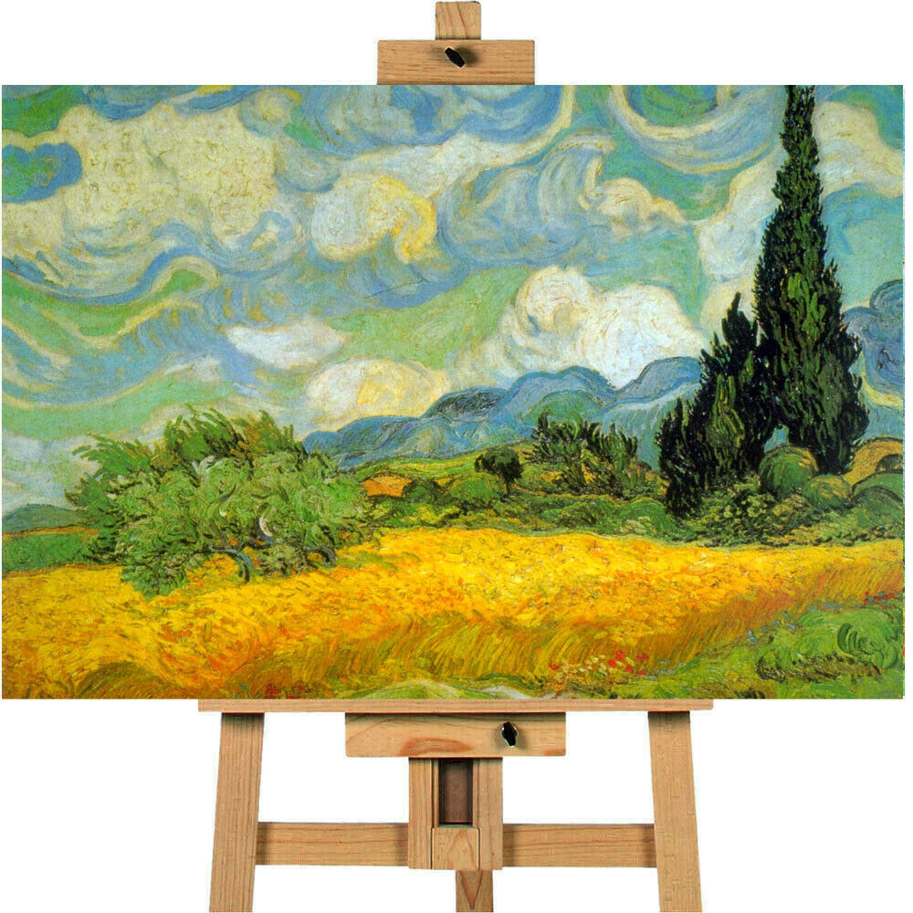 Vincent Van Gogh Haute Gafille Canvas Wall Art