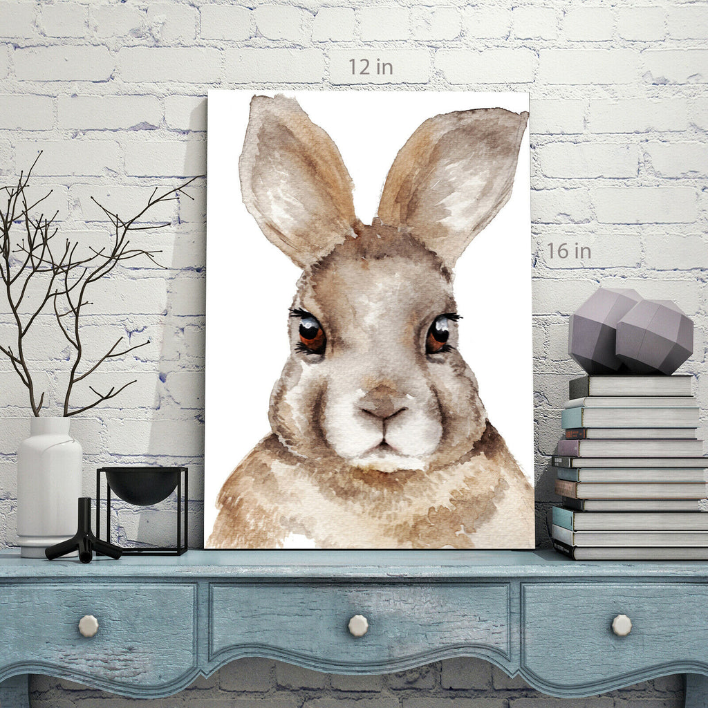 Rabbit kids Room Canvas Wall Art Picture Print