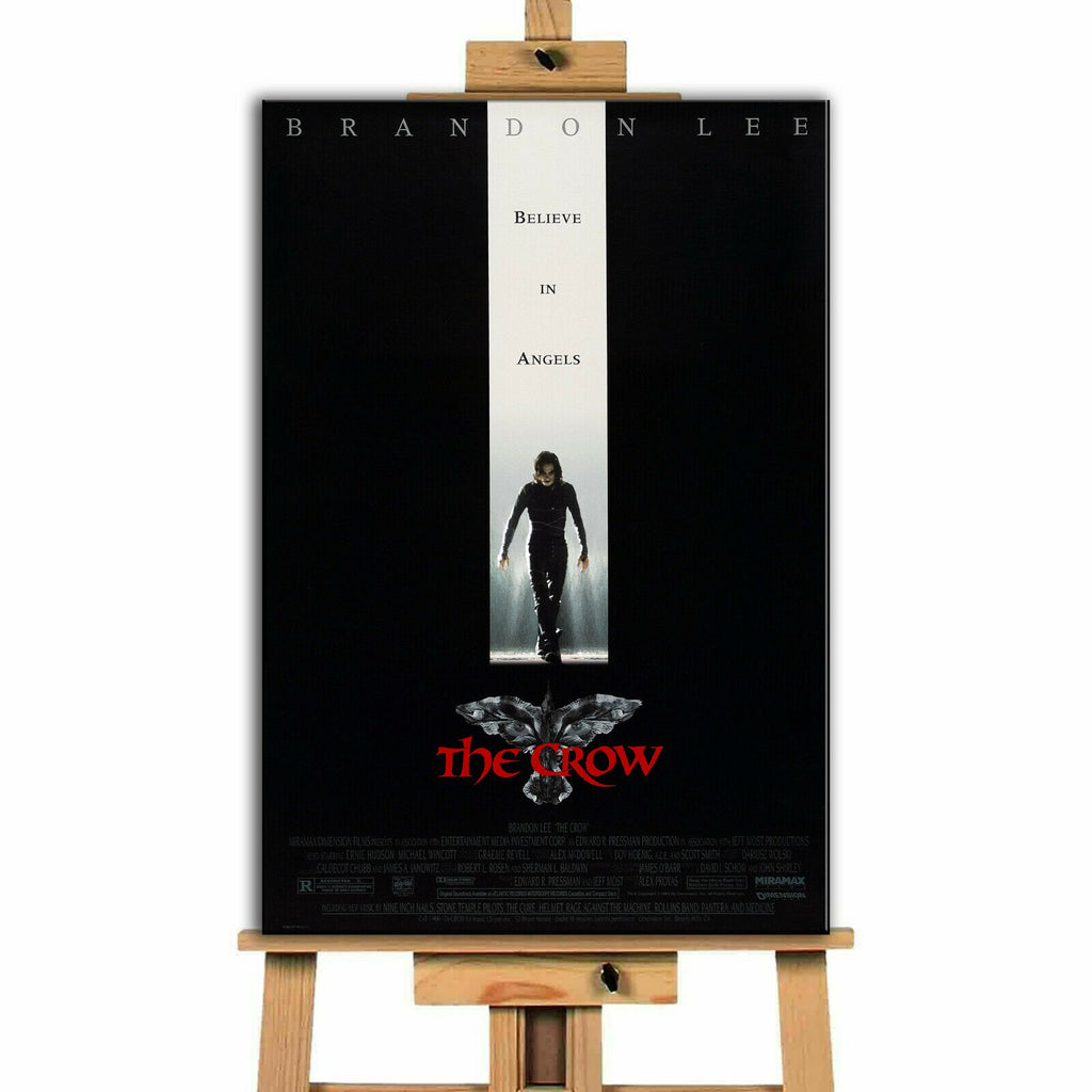The Crow Movie Canvas Print Wall Art