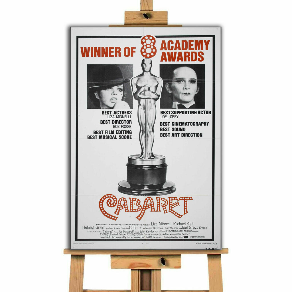 Cabaret Movie  Canvas Print Wall Art
