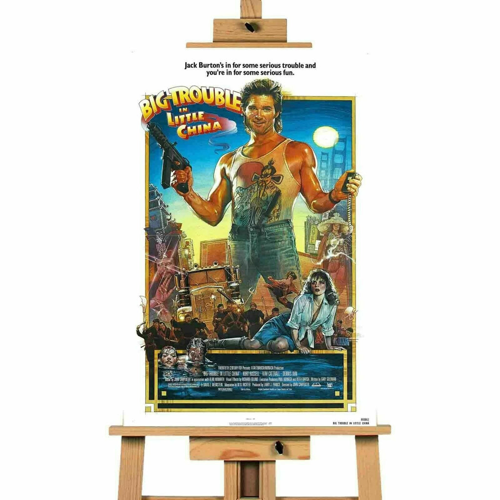 Big Trouble In Little China Canvas Print Wall Art