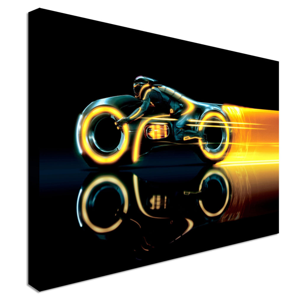 Tron legacy film modern design Canvas Wall Art Picture Print