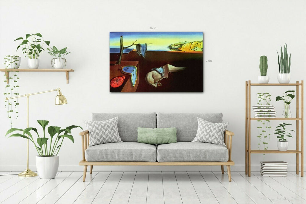 Salvador Dali - The Persistence Of Memory Canvas Canvas Wall Art Picture Print
