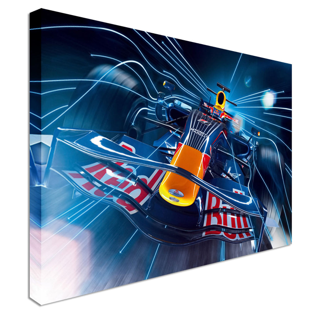 Red Bull F1 Car formula 1Canvas Wall Art Picture Print