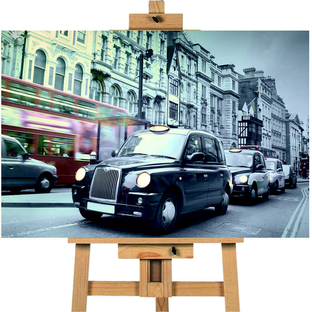 London Taxi Canvas Print Wall art