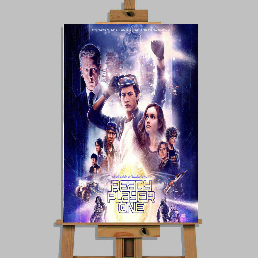 Ready Player One Movie Canvas Print Wall Art