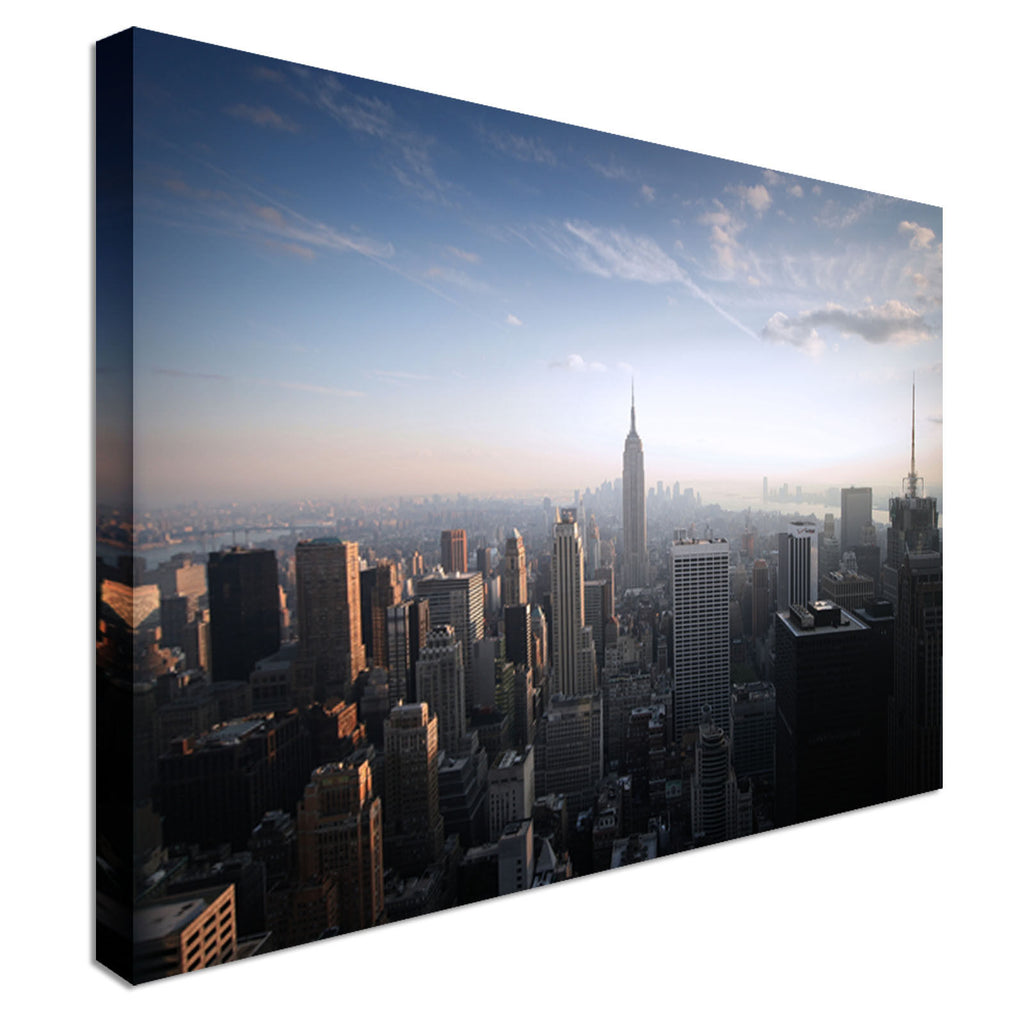 New York NYC Cityscape Canvas Wall Art Picture Print