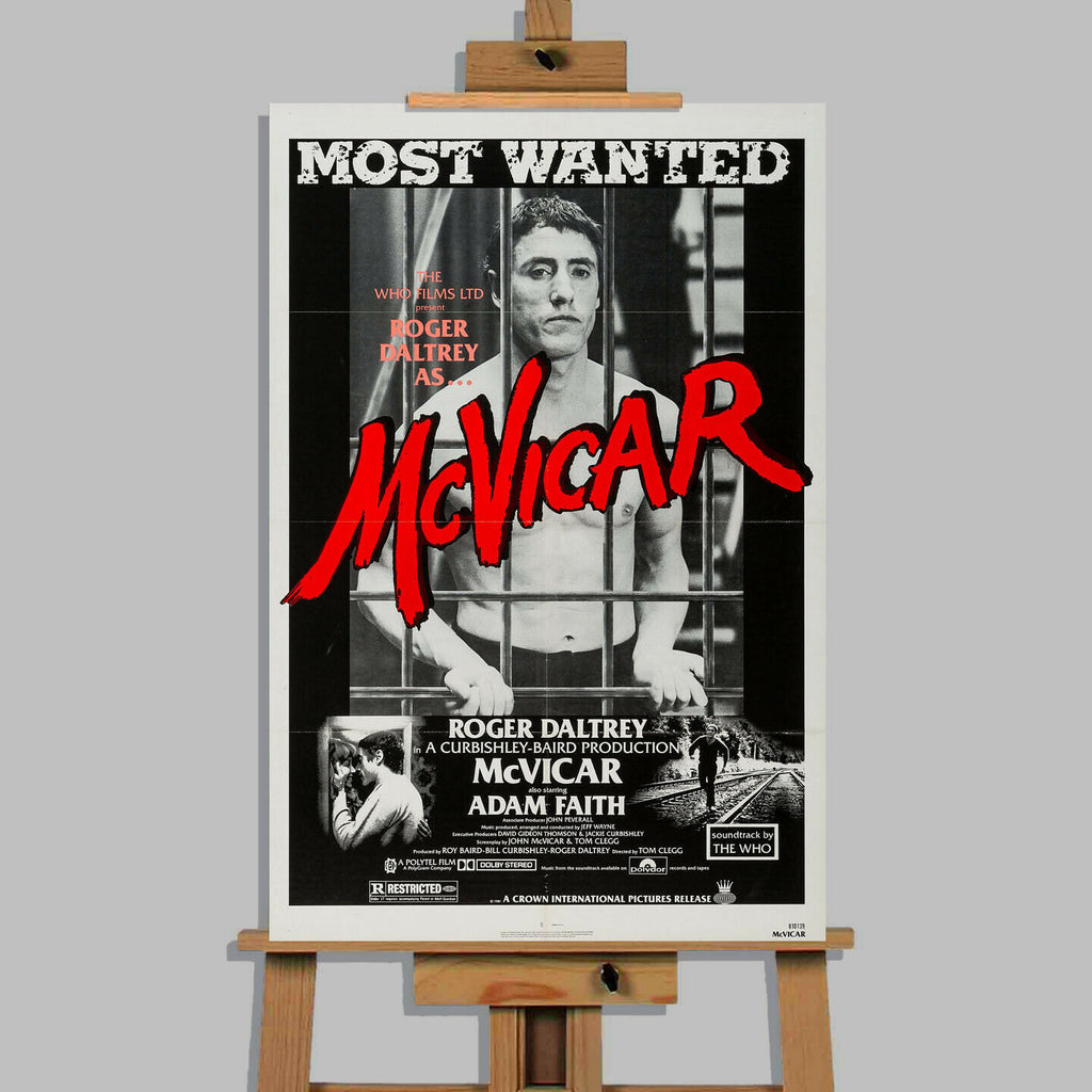 McVicar Movie Canvas Wall Art Picture Print