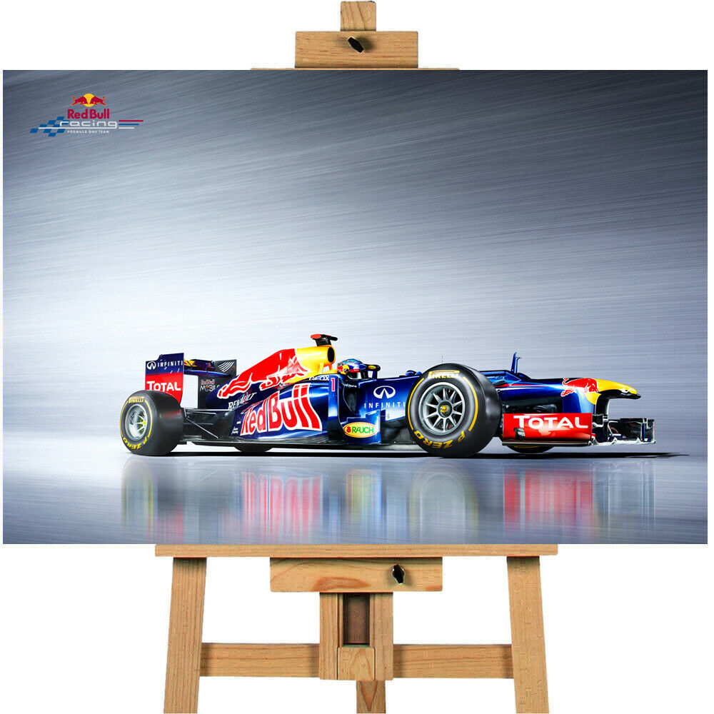 Formula 1  Red Bull Racing Canvas Print Wall Art Picture