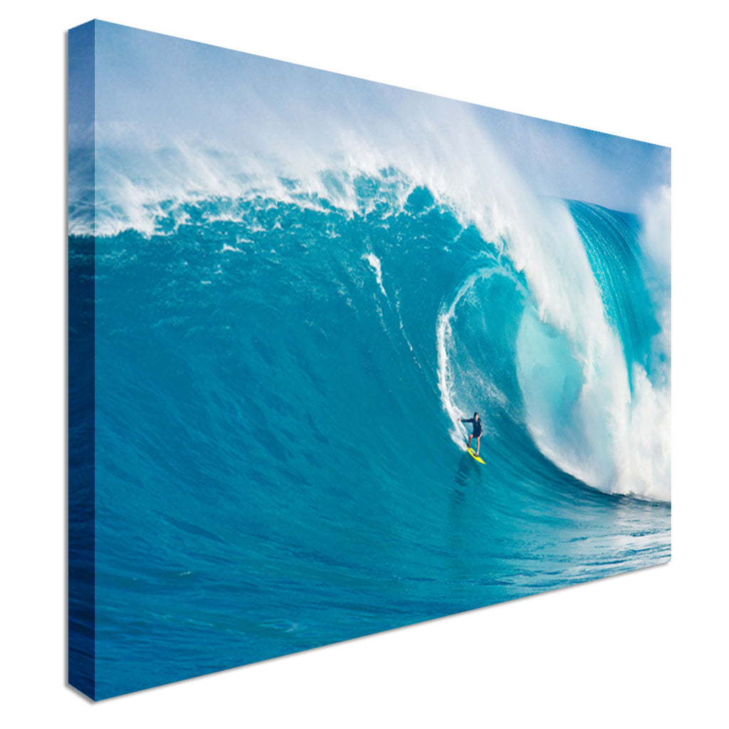 MAUI, ride Wave Canvas Art Cheap Wall Print Home Interior