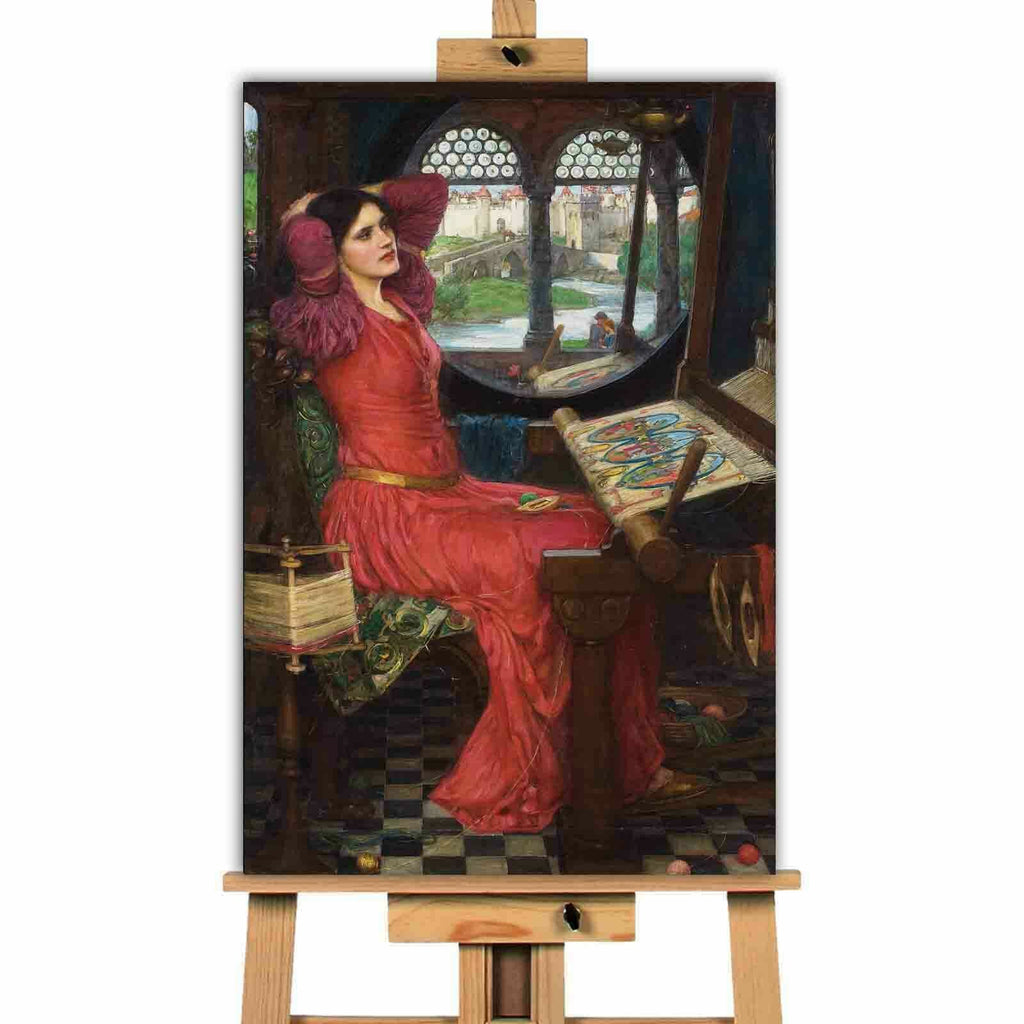 John William Waterhouse Sick Of The Shadows Canvas Wall Art Picture Print