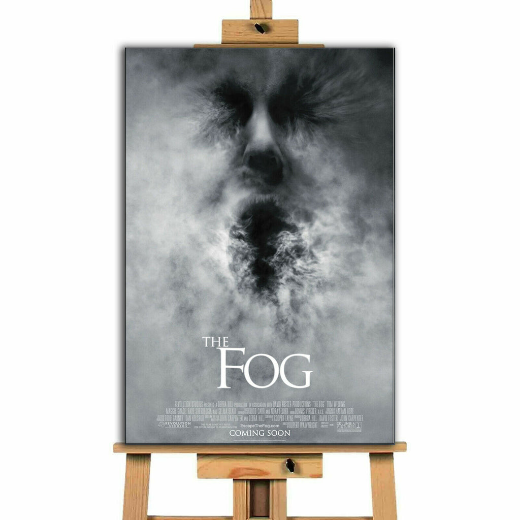 Fog Canvas Print Wall Art