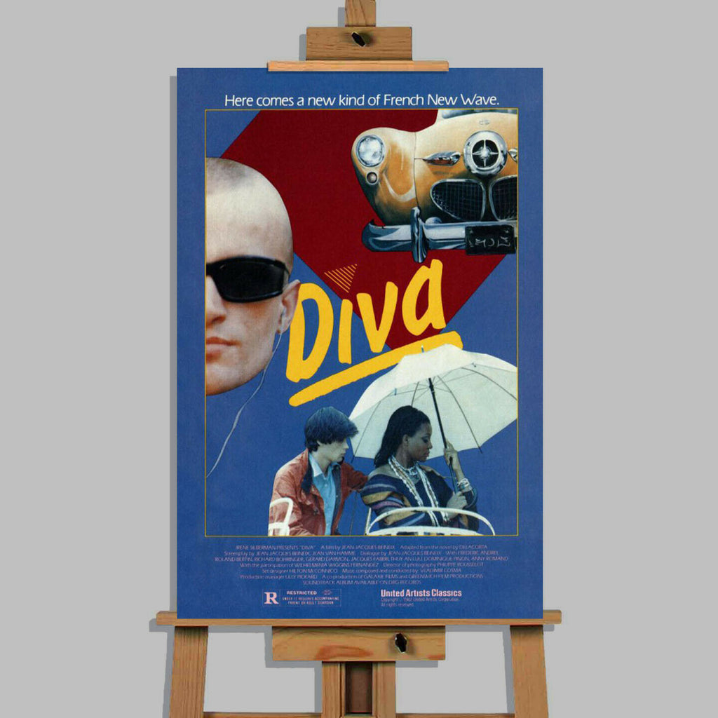Diva French Classic Movie Canvas Wall Art Picture Print