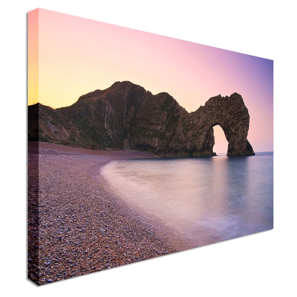 Durdle Door in Dorset Canvas Wall Art Picture Print