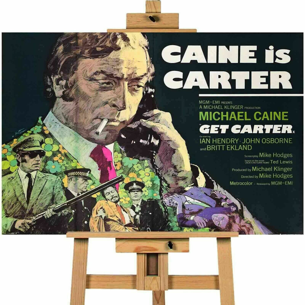 Get Carter Michael Caine Movie Canvas Print Wall Art