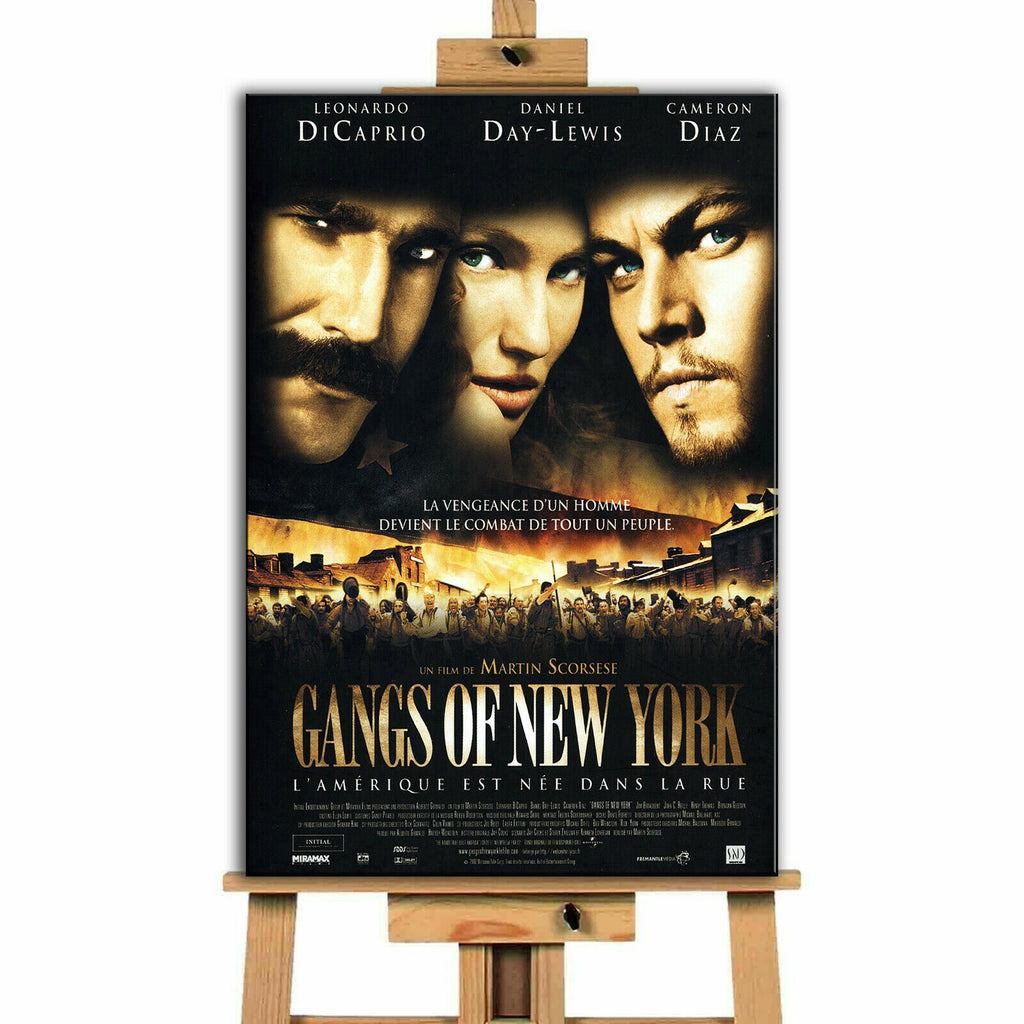 Gangs Of New York Movie Canvas Print Wall Art