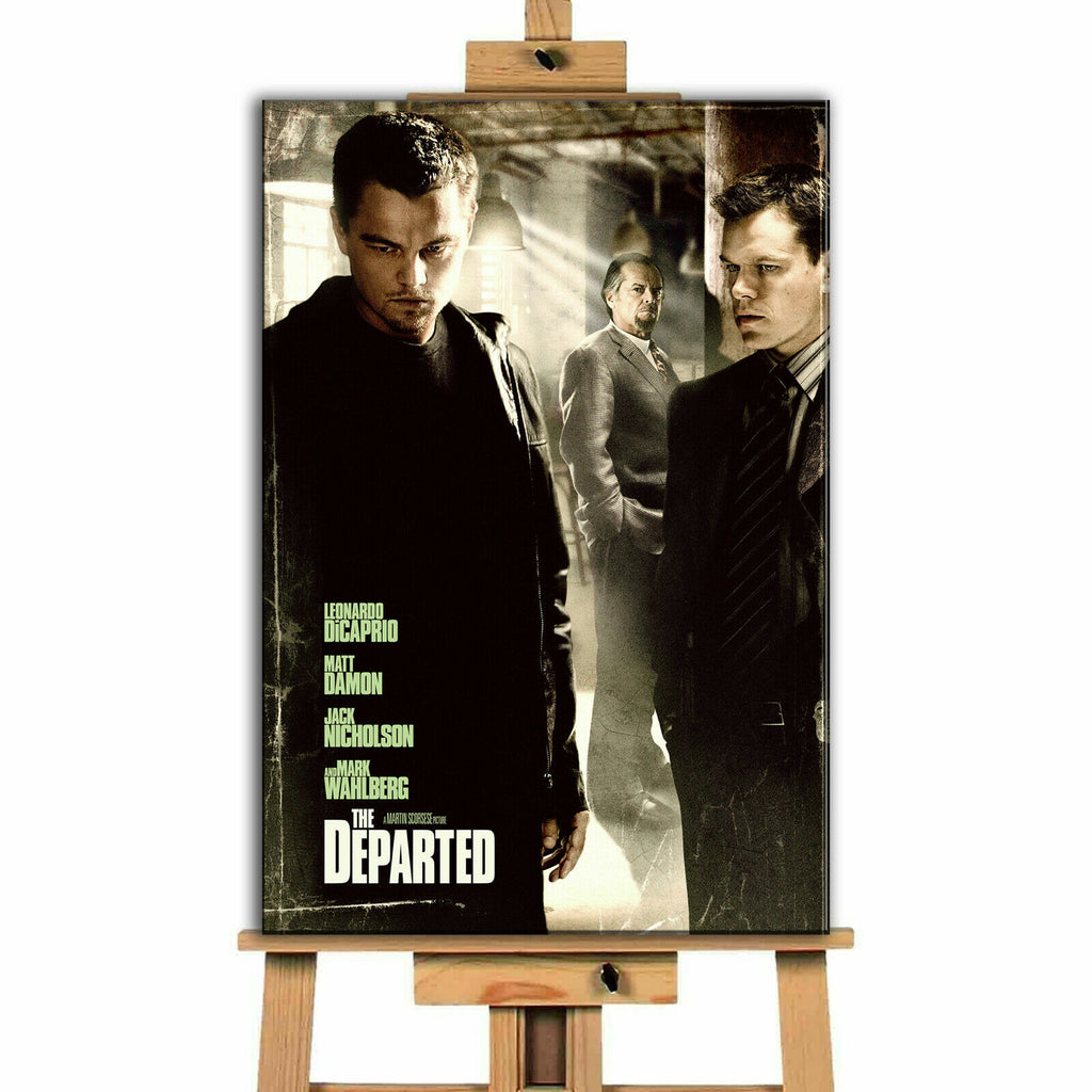 The Departed Movie Canvas Print Wall Art