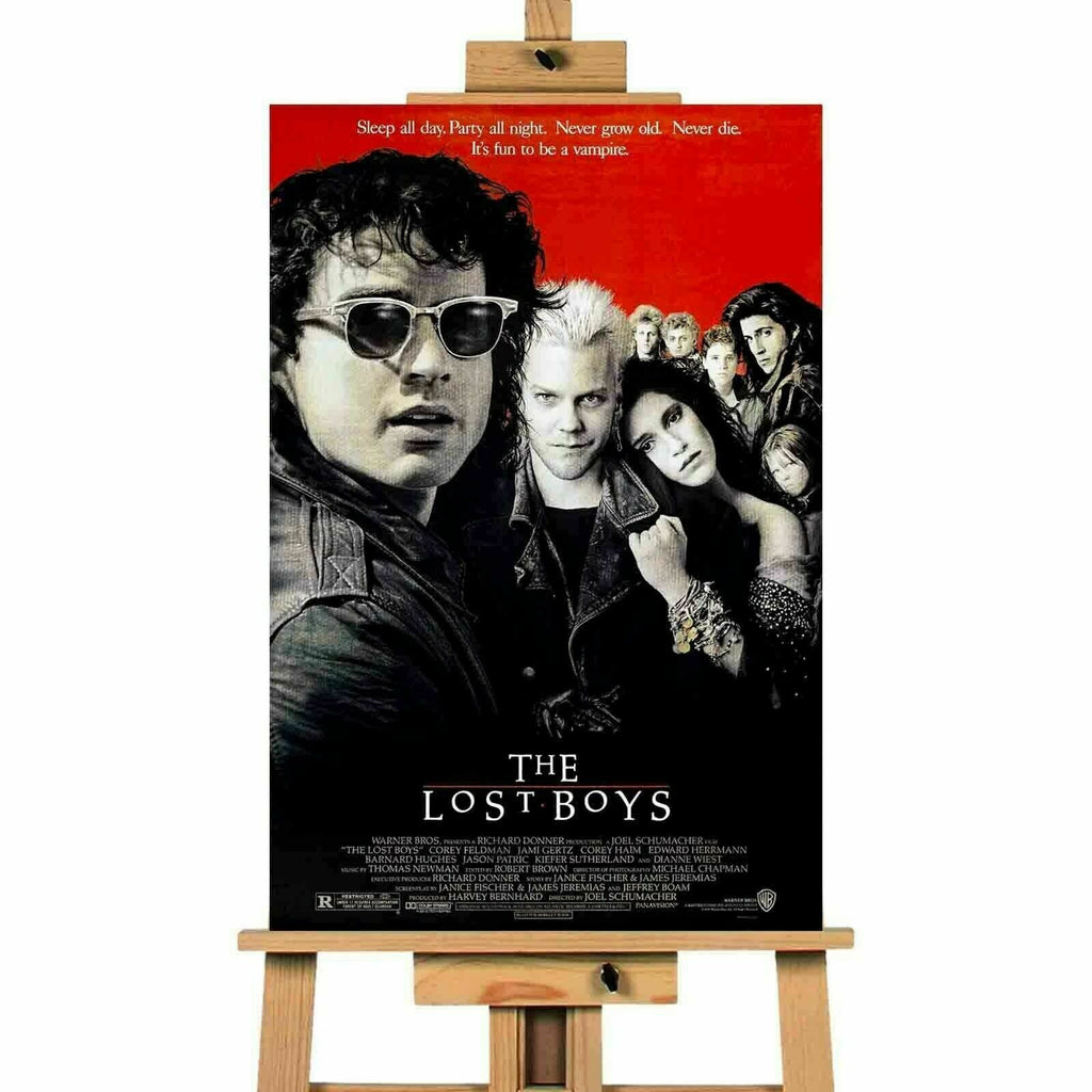 The Lost Boys Movie  Canvas Print Wall Art Poster