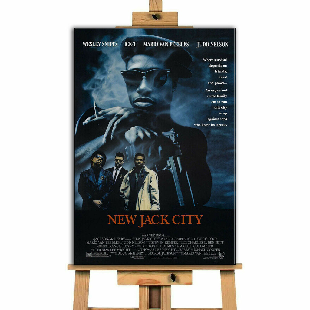 New Jack City Movie Canvas Print Wall Art