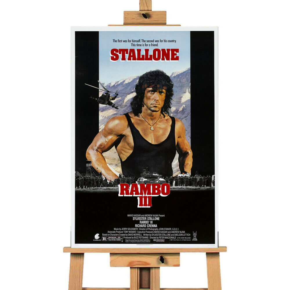 Rambo  Movie Collection  Canvas Print Wall Art