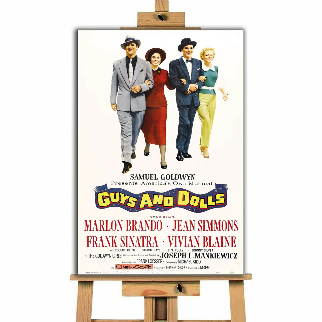 Guys and Dolls Movie Canvas Print Wall Art
