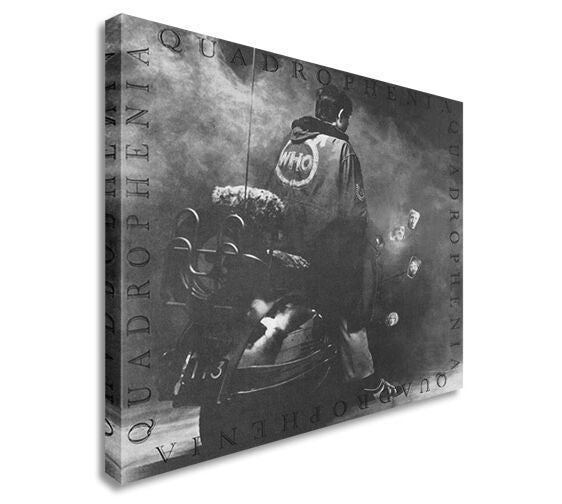 The Who Quadrophenia 2184 CD Cover Canvas Wall Art Picture Print