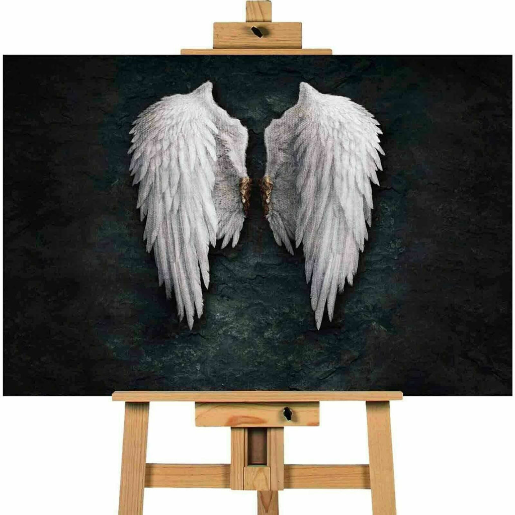 Banksy Angel Wings Canvas Print Wall Art