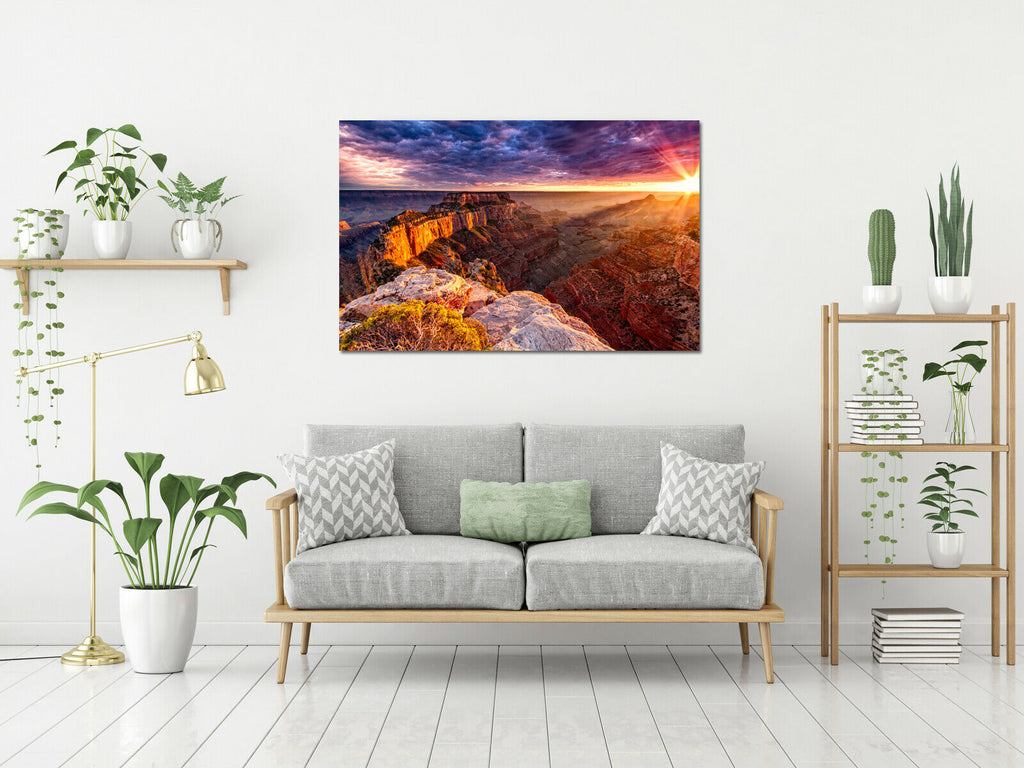 Grand Canyon national park Canvas Wall Art Picture Print