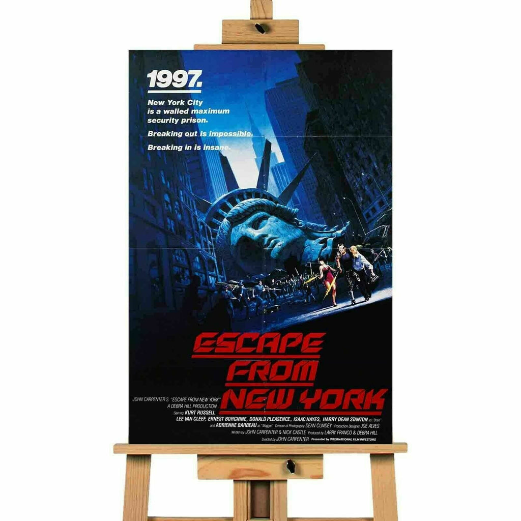 Escape From New York Movie Canvas  Print Wall Art