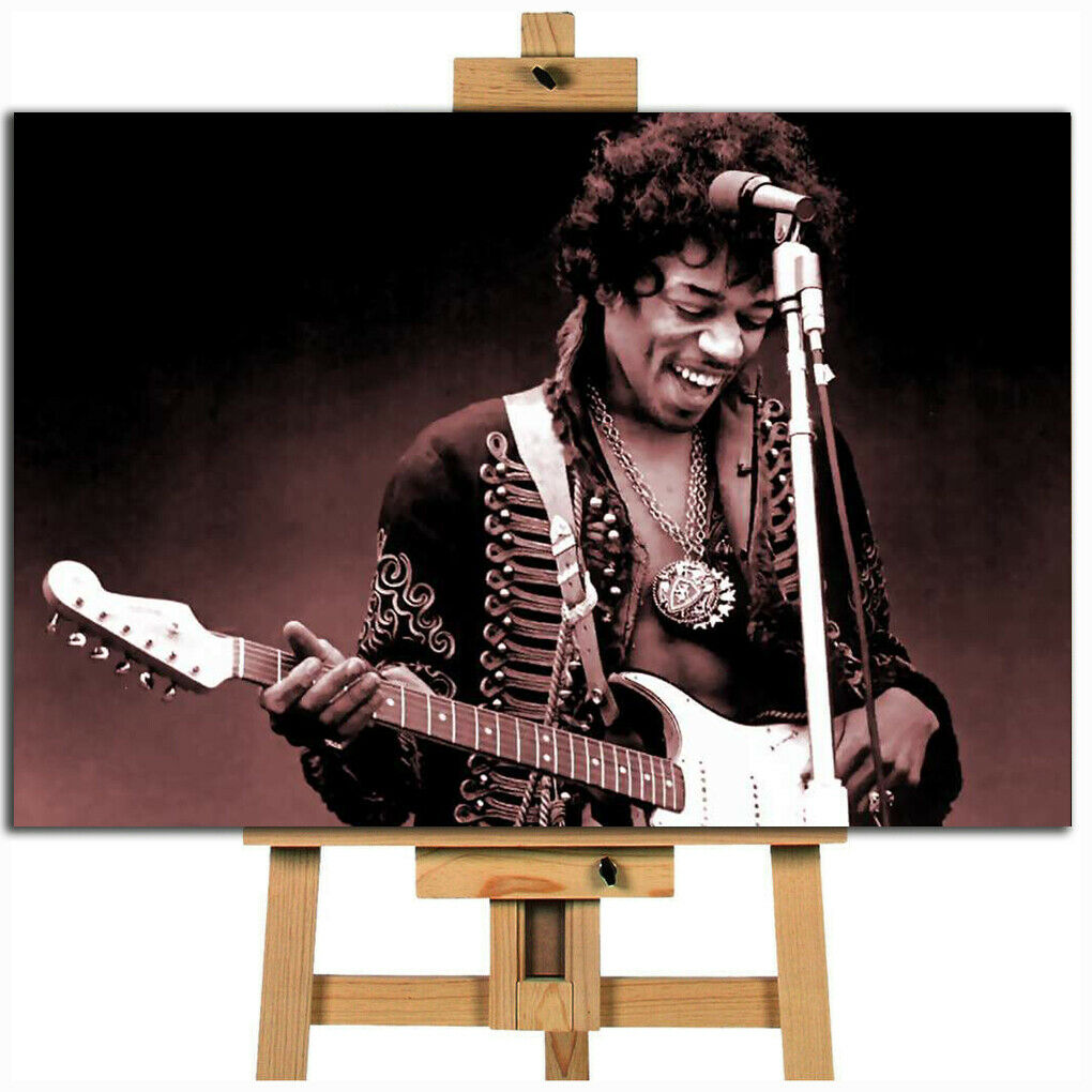 Jimi Hendrix ICON canvas wall art print