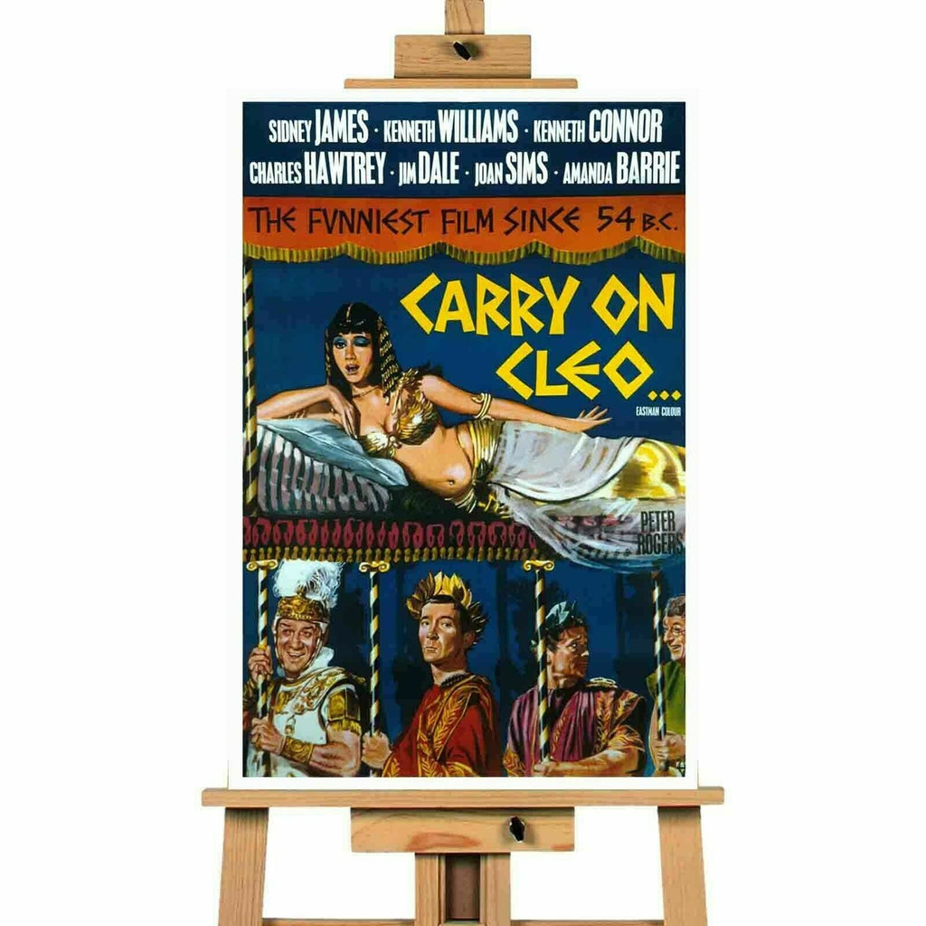 Carry On Cleo Movie Poster Canvas Canvas Print Wall Art CVTMAR160069
