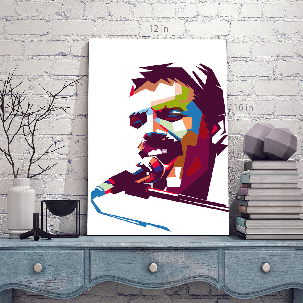 Freddie Mercury Canvas Wall Art Picture Print