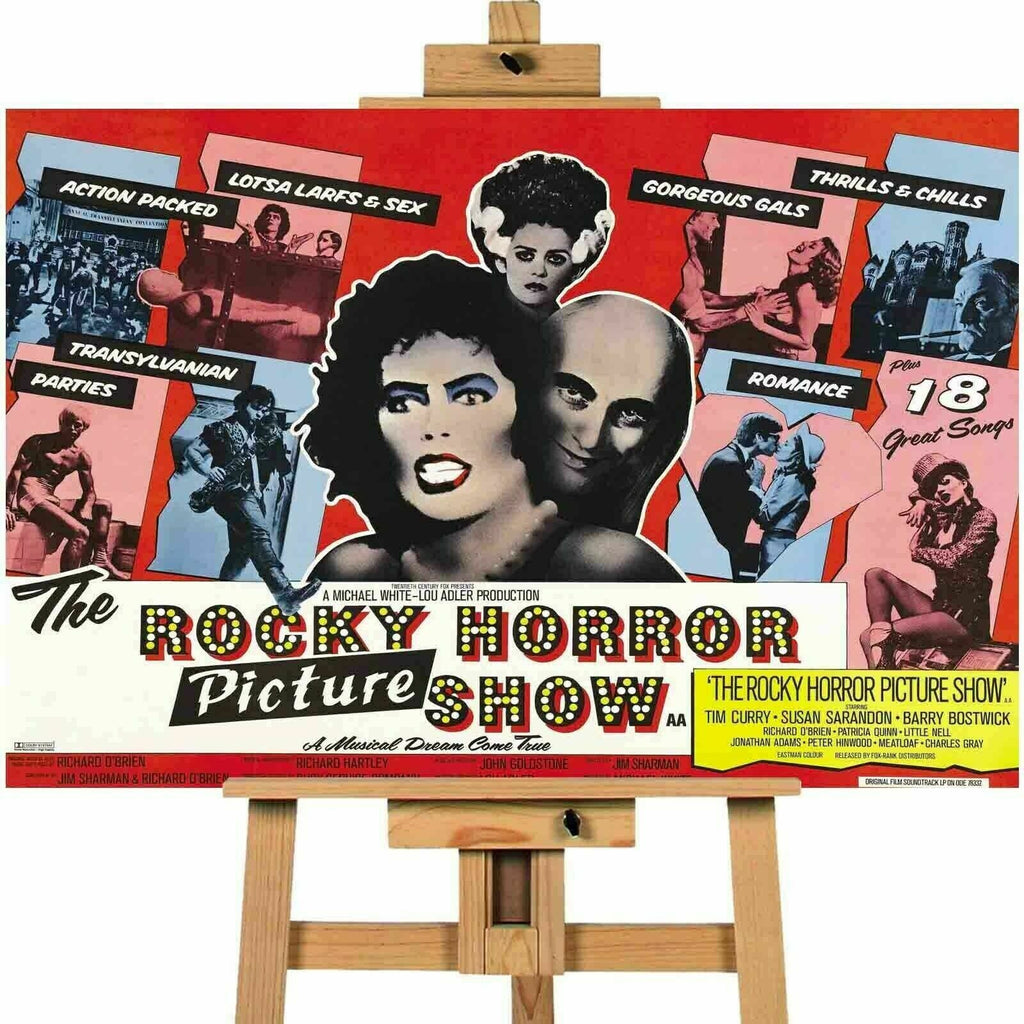Rocky Horror Picture Show Poster Canvas Art Print Wall Art